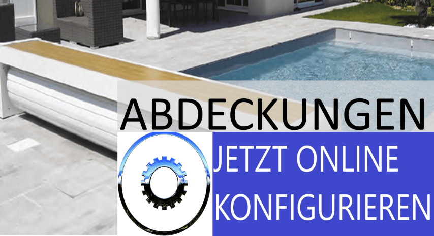 Poolabdeckung Online-Konfigurator
