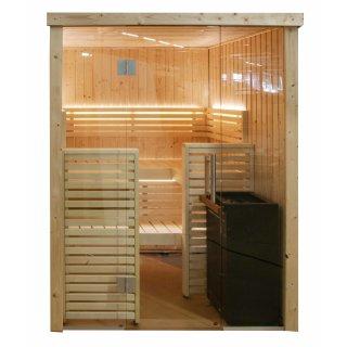 Harvia Variant View Sauna, Modell Small