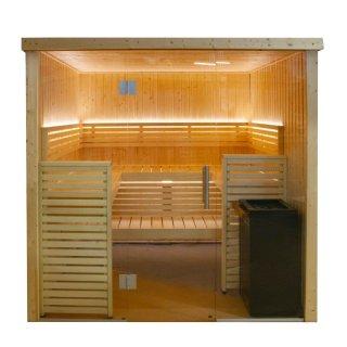 Harvia Variant View Sauna, Modell Large
