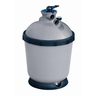 Sandfilteranlage MGi-500, 8 m³/h, komplett mit Pumpe, Anschlüssen und Bodenplatte