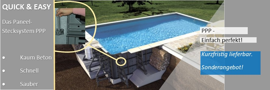 Quick & Easy - schnell zum eigenen Pool