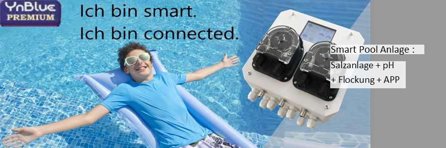 Smart-Pool- & Salzanlage