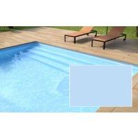 Folie Hellblau - für kristallblaues Wasser