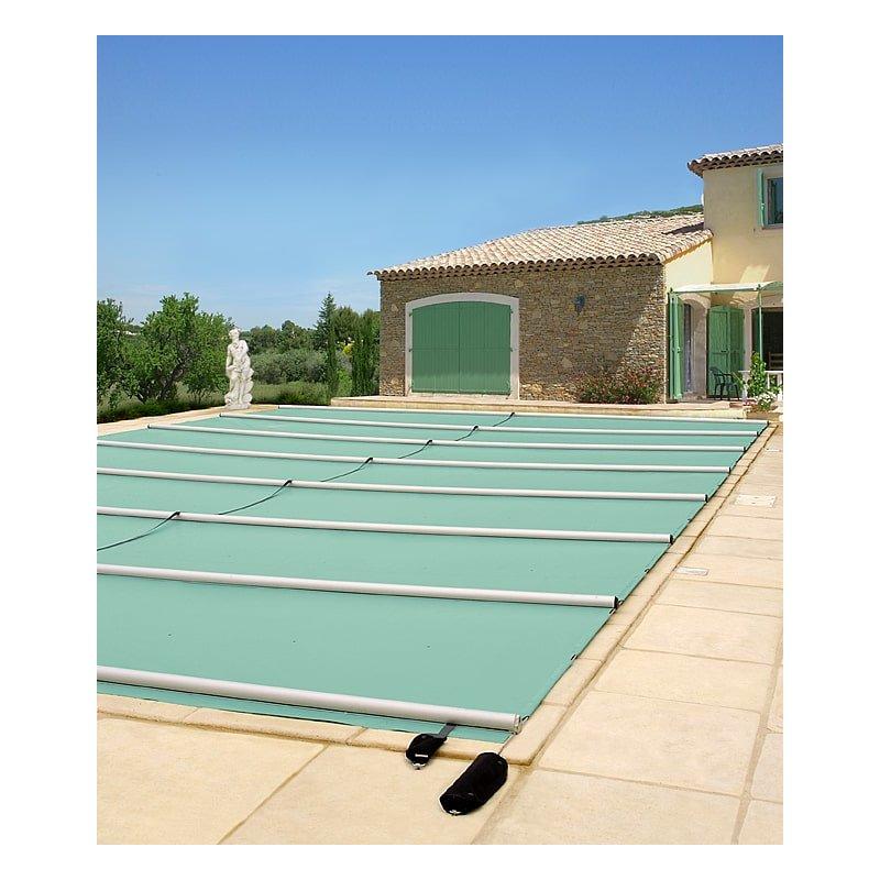 Stangenabdeckung für Pool  10 x 5, Grau