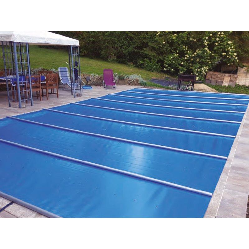 Stangenabdeckung für Pool 10 x 5, Blau